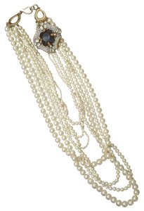 Banana Republic Pearl Statement Necklace