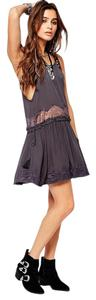 Free People short dress Charcoal on Tradesy