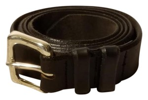 Billy Belts Billy Belts California Men's Black Genuine Leather Brass Buckle