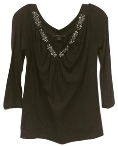 Express Top Black, Silver