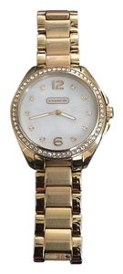 Coach Coach gold tone stainless steel watch