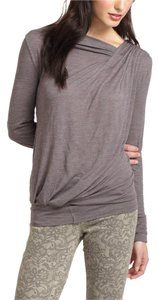 Anthropologie Top Heather Brown