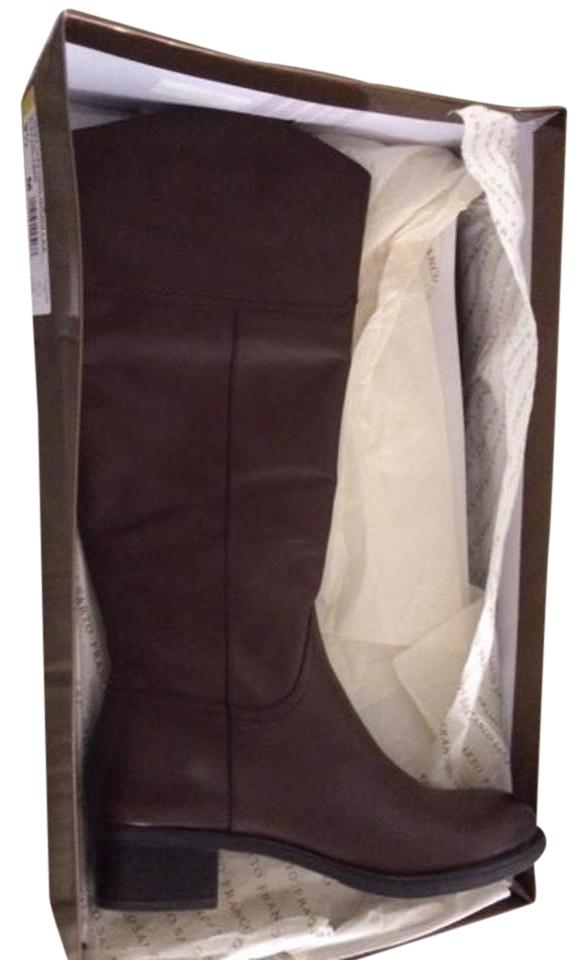 Ladies Franco Year-end Sarto Brown Cissy/Oxford Boots/Booties Year-end Franco sales 9acd7b