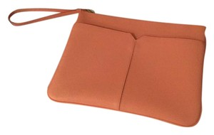 J.Crew Light salmon Clutch