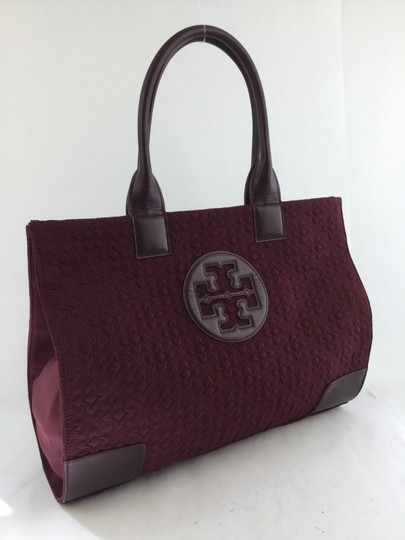 Tory Burch & Shoppers Tote in Deep Berry