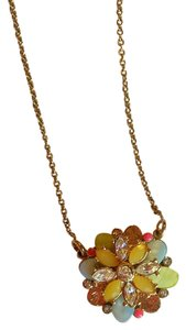 Kate Spade Kate Spade Bungalow Bouquet Long Pendant Necklace