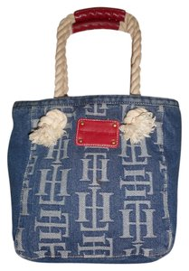 Tommy Hilfiger Denim Tote in Blue