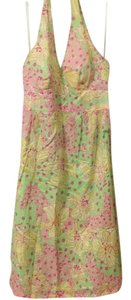 Lilly Pulitzer short dress pink, green, lime Halter Lilly & Pulitzer on Tradesy