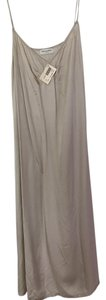 Dries van Noten short dress Grey Silk Nwt Silver Slip on Tradesy