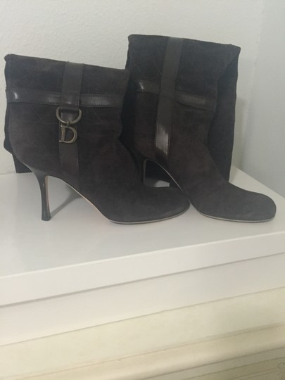 Dior Brown Boots Image 1