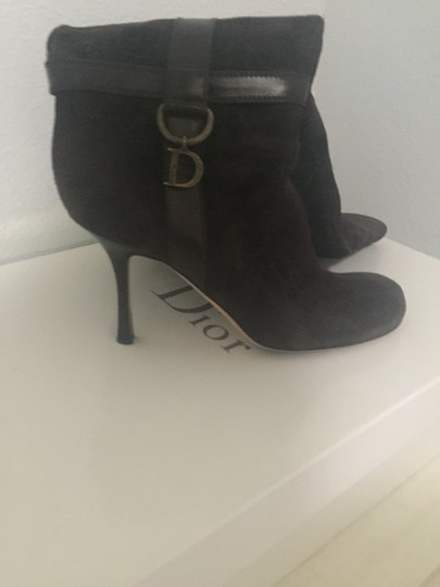 Dior Brown Boots Image 2