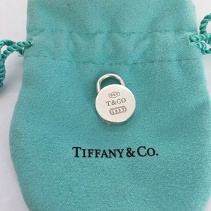 Tiffany & Co. Tiffany & Co T & Co. Silver 1837 New York Round Charm (Open and Close) Lock