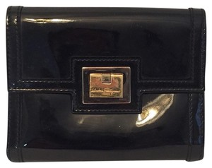 Salvatore Ferragamo Patent Leather Small Wallet