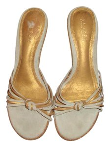Lauren Ralph Lauren Gold/Gray Sandals