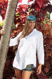 Lirome Embroidered Casual Summer Chic Crochet Top White