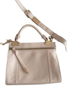 Foley + Corinna Leather Satchel in Pink