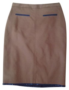 Club Monaco Skirt brown rust camel