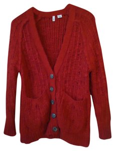 Anthropologie Chunky Knit Cable Cardigan