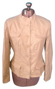 Chadwicks Button Chadwick's Tan Blazer