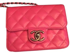 Chanel Quilted Caviar Leather Chain Cross Body Bag