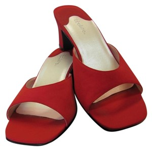 Callisto Size 9.00 M Very Good Condition Red Sandals