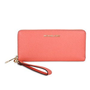 Michael Kors Michael Kors Jet Set Travel Continental Wallet - Pink Grapefruit NWT