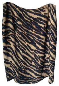 INC International Concepts Pencil Animal Skirt Leopard print