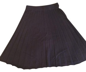 Pure Energy Swing Cashmere Skirt Plum/Eggplant
