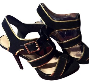 Steve Madden Black trimmed in gold Formal
