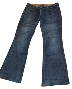 Goldsign Desire Stretch Size 28 Boot Cut Jeans-Medium Wash
