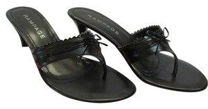 Rampage New Size 9.00 M Excellent Condition Black Sandals