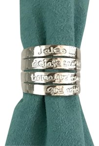 TOUS TOUS Folklore 4 loops silver ring