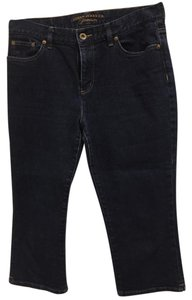 Ralph Lauren Capri/Cropped Denim-Dark Rinse