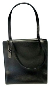 Coach Leather Double Baguette