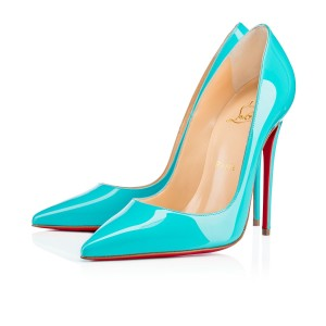 Christian Louboutin Sokate So Kate Blue Pumps