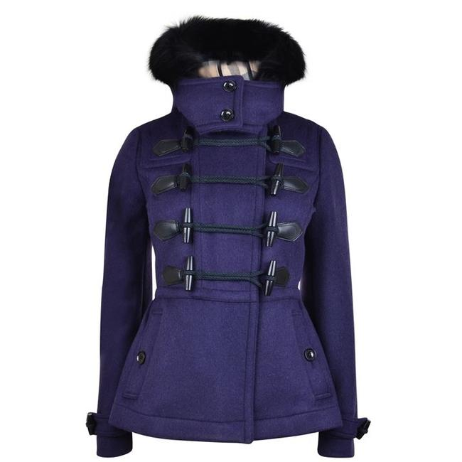 Burberry Warwickstead Duffle Toggle Brit Pea Coat