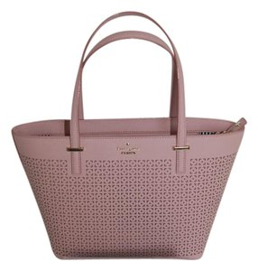 Kate Spade Leather Pxru6716 Tote in Pink Bonnet