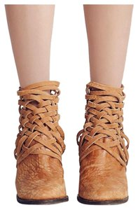 Free People Camel/Brown/Tan Boots