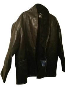 T Shearling Black Jacket