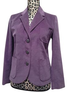 Brooks Brothers Casual Business Casual Jacket Buttons Year-round Purple Blazer