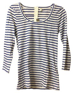 J.Crew T Shirt blue/white
