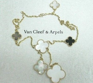 Van Cleef & Arpels Van Cleef Arpels 18kt Magic Alhambra 6 Motifs Yellow Gold Necklace 16