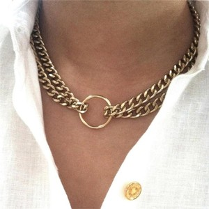 Elliot Francis New Thick Chain Necklace