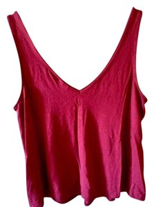 Topshop Casual Summer Top Red