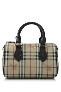Burberry Tote in Burberry Haymarket Check