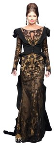 Fouad Sarkis Evening Gown Evening Night Out Long Classy Dress