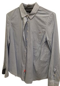 Tommy Hilfiger Button Down Shirt blue/white gingham