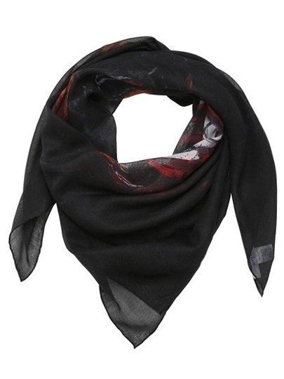 Givenchy Rottweiler Scarf Cashmere Silk Pure Luxury! Image 1
