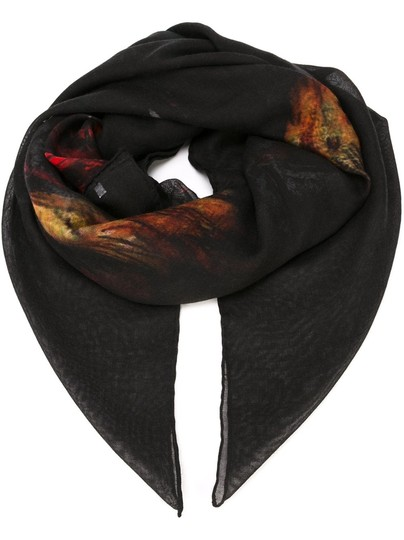Givenchy Rottweiler Scarf Cashmere Silk Pure Luxury! Image 4
