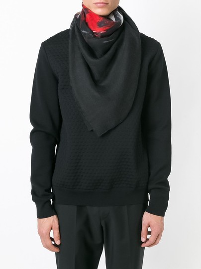 Givenchy Rottweiler Scarf Cashmere Silk Pure Luxury! Image 5